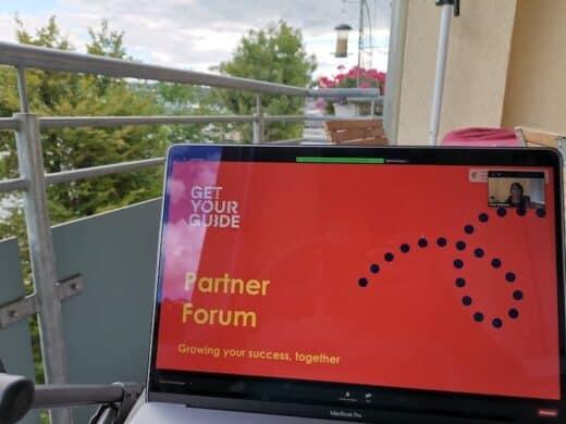 GetYourGuide Partner Forum online