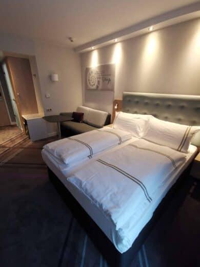 Unser Zimmer im Premier Inn