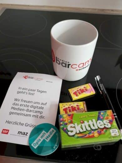 Goodies vom Medienbarcamp Schweiz