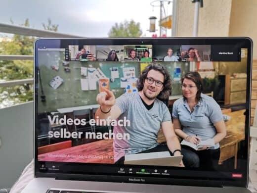 Arne und Adina vom Schwarzwald Anker beim Social Media Roundtable