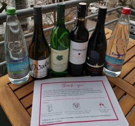 Weinpaket zur Küchenparty von wein.im.puls