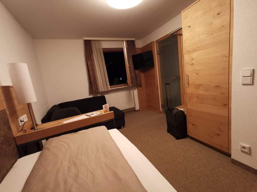 Mein großes Einzelzimmer im Kondrauer Hof/Waldsassen