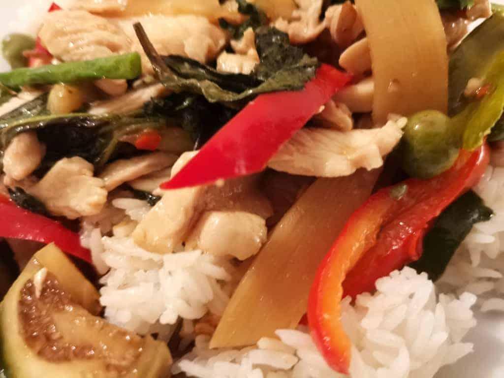 B 10 vom Kwan Kao, leckerstes thailändisches Essen