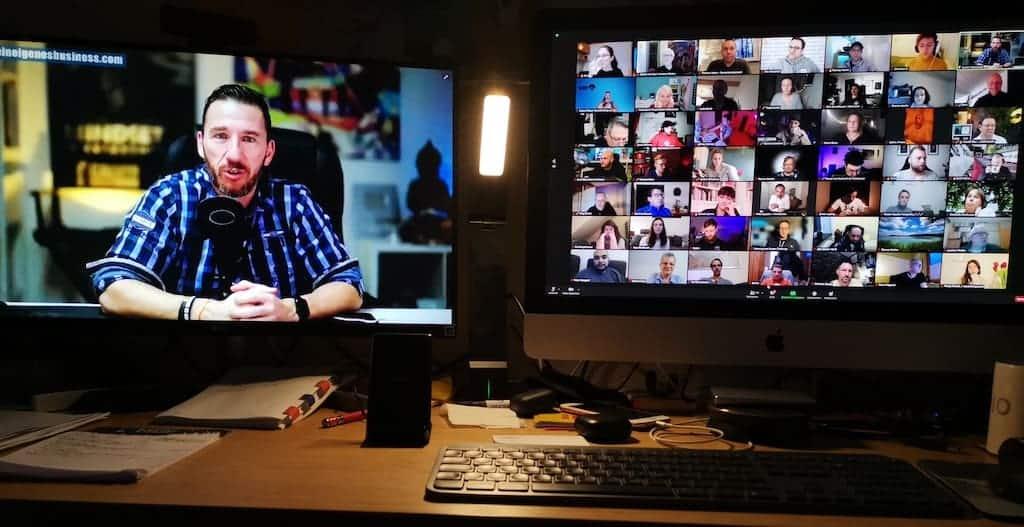 Öffentliches Live Coaching von Calvin Hollywood via Zoom