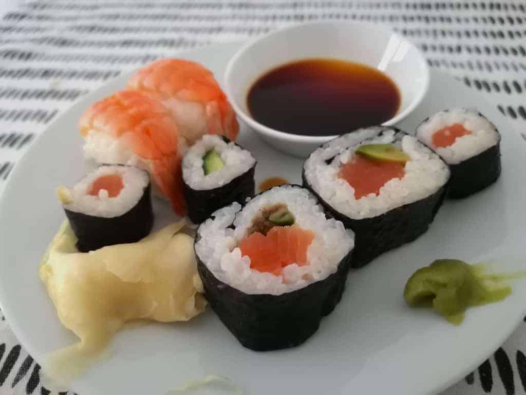 Sushi-Reste von Eat Happy