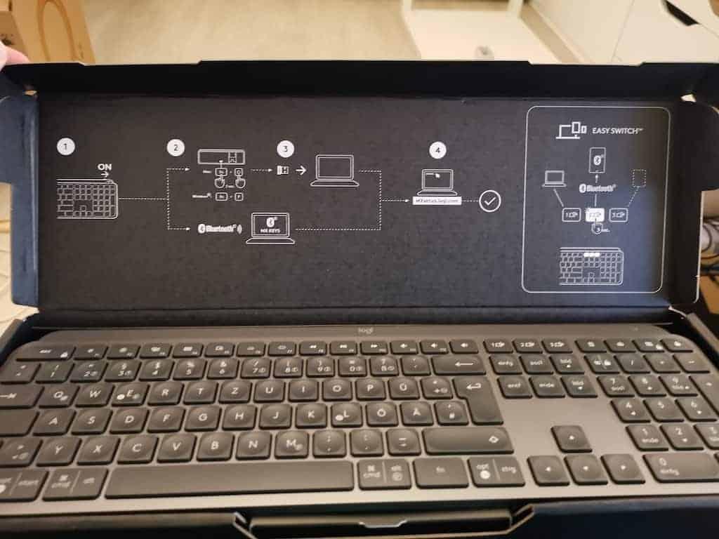 Die neue MX Keys Tastatur