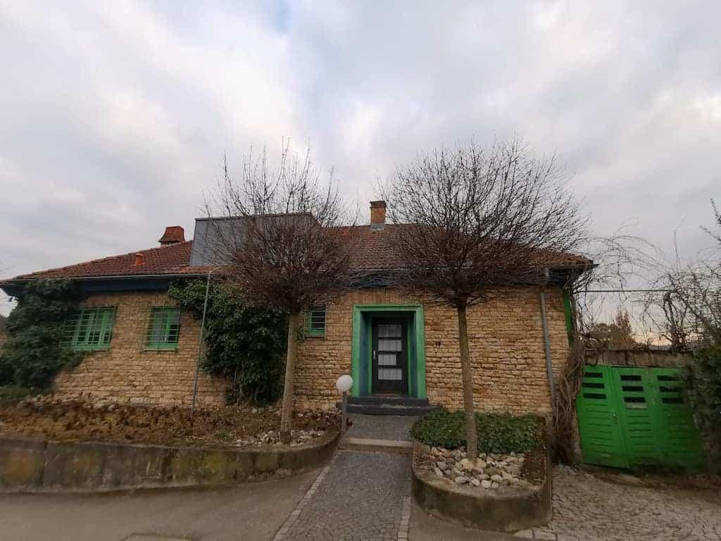 Wieder ein schönes Haus entdeckt auf meinem Spaziergang in Stuttgart