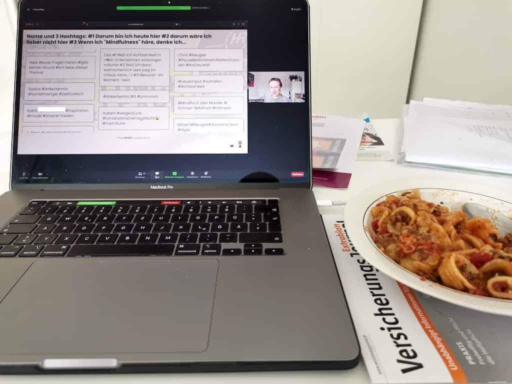 Mittagspause am Mittwoch mit meinem geliebten Lunch & Learn
