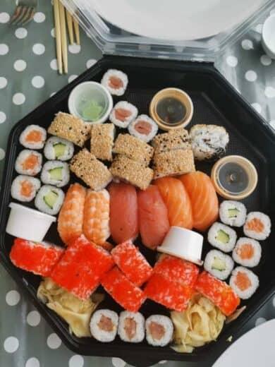 Familienplatte Sushi