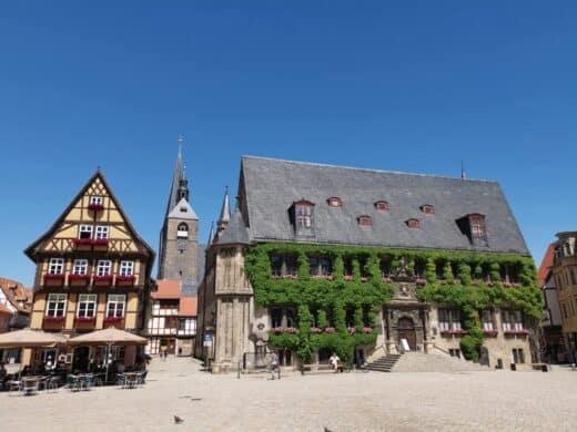 Das Rathaus von Quedlinburg