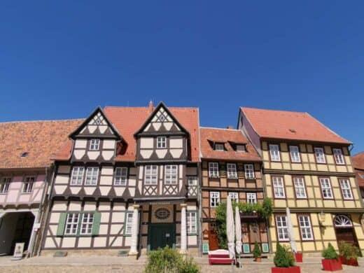 Am Schlossberg in Quedlinburg