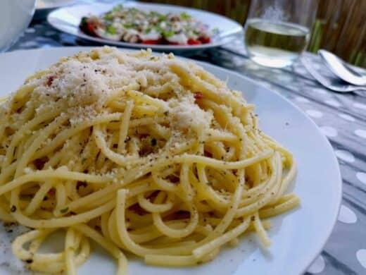Spaghetti mit extra viel Knoblauch *yummie*