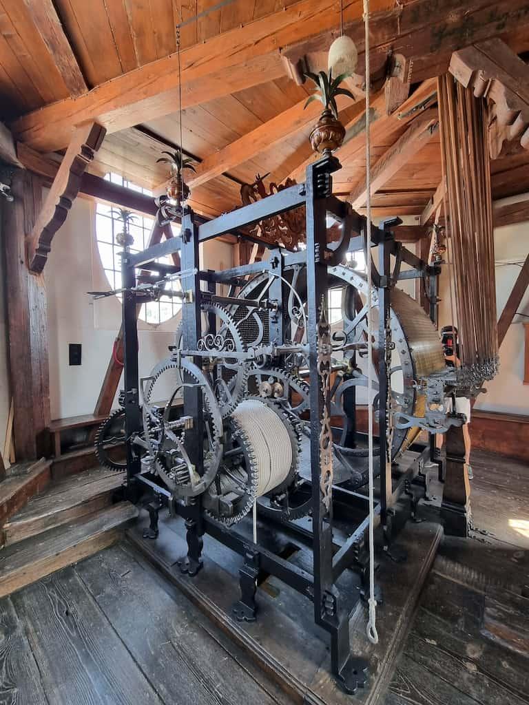 Herzstück des Glockenspiels