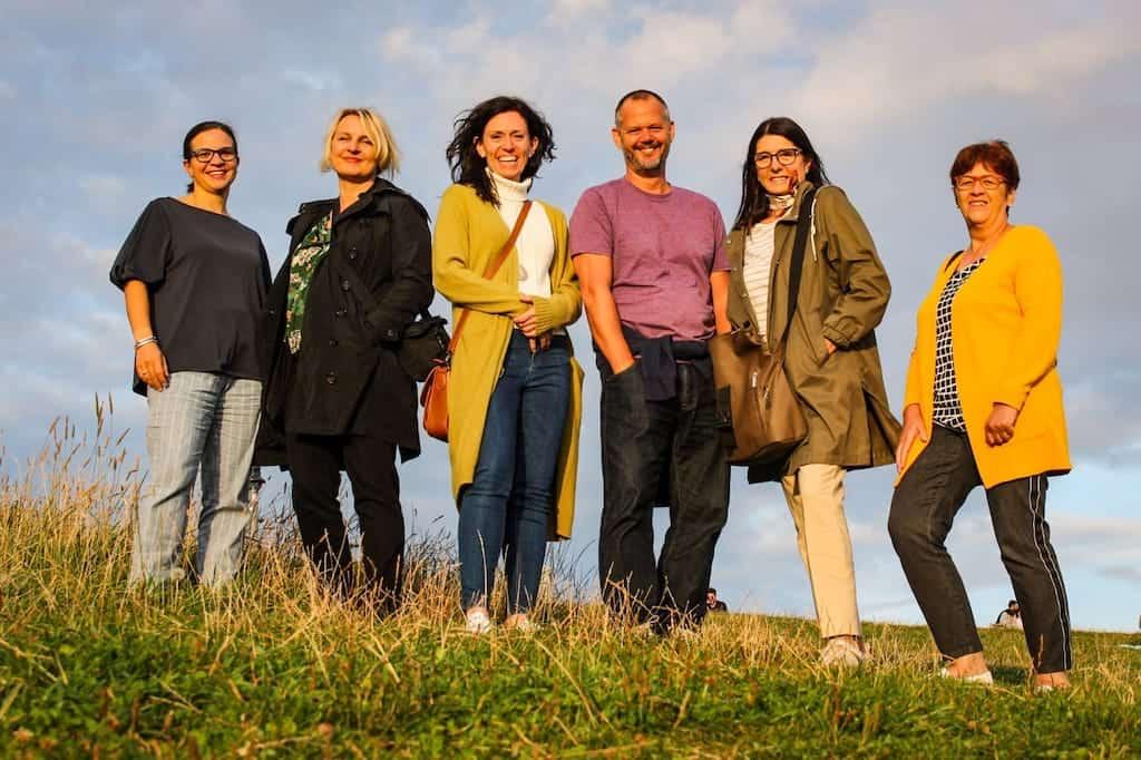 Die Crew bei der Bloggerreise #DasKannNurSalzburg (v.l.n.r.): Babsi, Charis, Martina, ich, Claudia und Dagmar